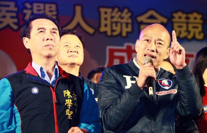 影/韓國瑜:蔡英文若連任 未來四年將「慘慘慘慘!」