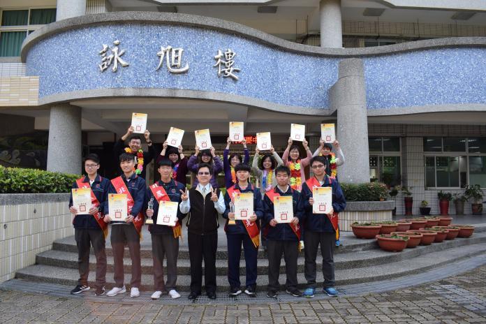 北港農工全國技藝競賽 抱回兩座金手獎、四項優勝