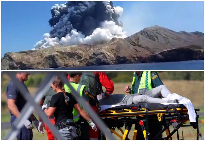 紐西蘭觀光勝地<b>火山</b>噴發 造成5人死亡、多位遊客受困