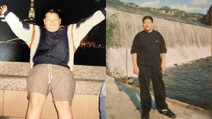 <br> ▲魏大勛舊照曝光。(圖/翻攝微博)