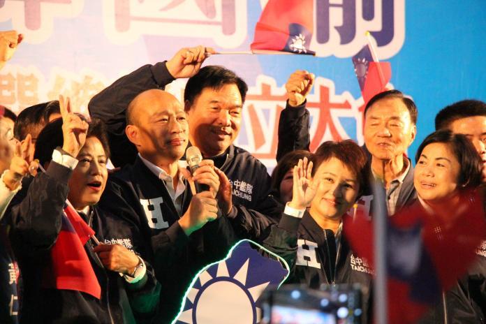 韓國瑜:養網軍的政府就要讓它下台