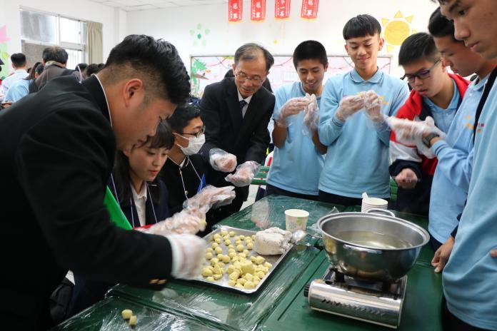 日本石山高校參訪六和高中 體驗台灣文化與專業之美