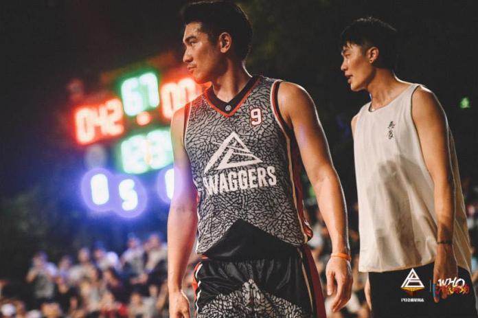 ▲高以翔生前穿著灰色9號球衣參加比賽。(圖/臉書)