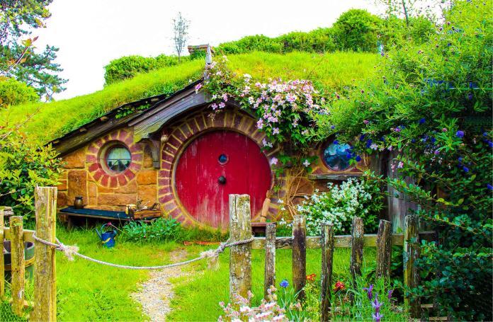 紐西蘭哈比人村(Shutterstock)