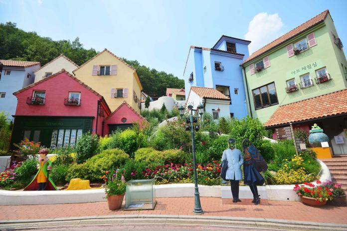 韓國首爾小王子村/法國村(Shutterstock)