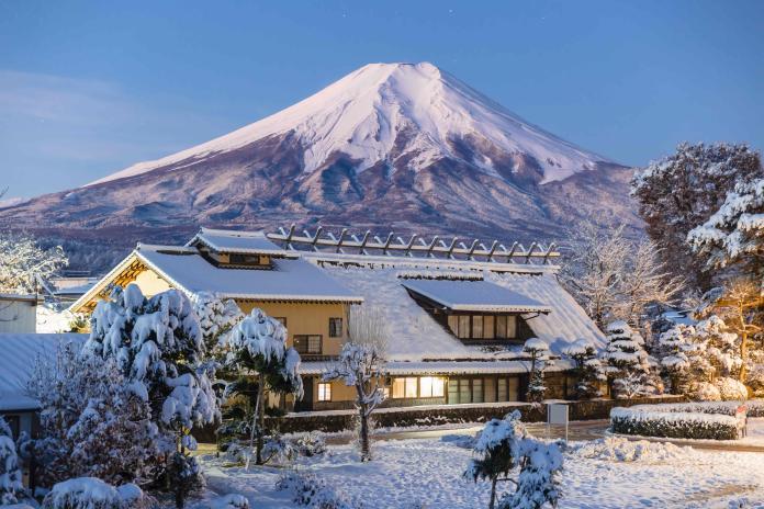 日本忍野八海(Shutterstock)