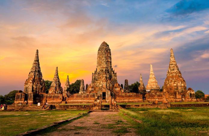 泰國曼谷北部大城府遺址(Shutterstock)