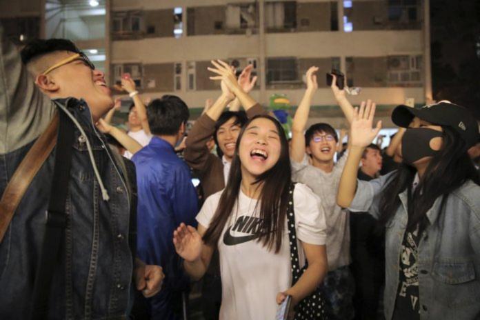 2019年香港區議會大選 港史投票率最高的選舉