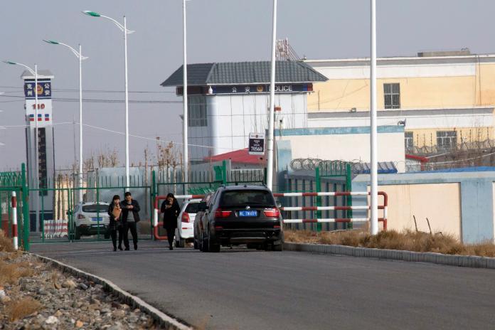 ▲新疆再教育營的內部文件日前被西方媒體接連曝光,令中國官方十分難堪。(圖/美聯社/達志影像)