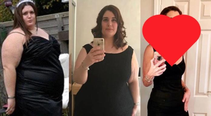 ▲英國一名女子透過醫療協助成功減重 95 公斤。(圖/翻攝自祕魯共和國報)