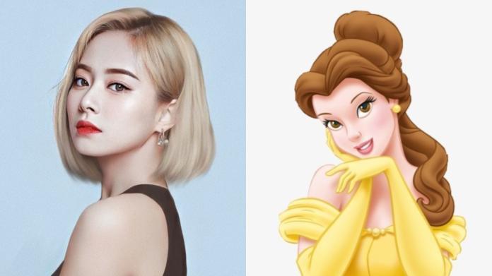 子瑜美貌再攀顛峰!「復古公主裝」複製迪士尼角色