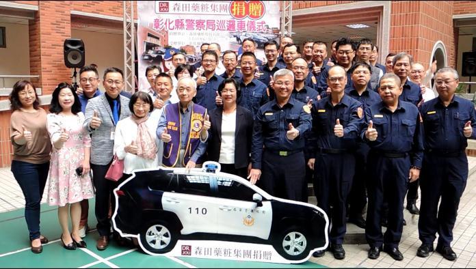 影/企業捐贈<b>巡邏車</b> 用行動支持警察維護治安