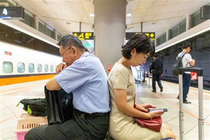 台北市長柯文哲和妻子陳佩琪。( 圖 / 翻攝陳佩琪臉書 )