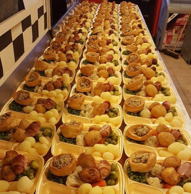 <br> ▲路易斯霸氣的說,「我的便當店一天能賣出超過 380 份的餐點」。(圖/翻攝自外媒)