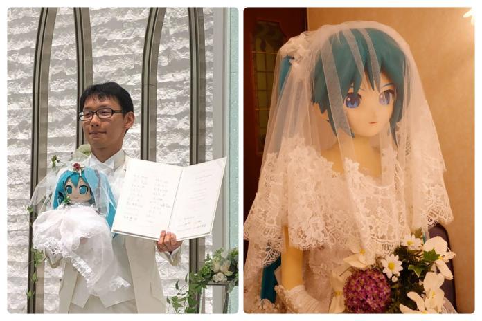 日本公務員與初音慶紙婚 溫泉旅館照閃瞎宅宅們