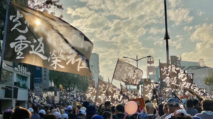 巷仔內/一張罷韓遊行照片 照出韓國瑜支持者的集體焦慮