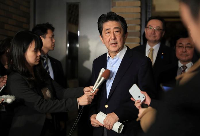 ▲日本首相安倍晉三。資料照。(圖/美聯社/達志影像)