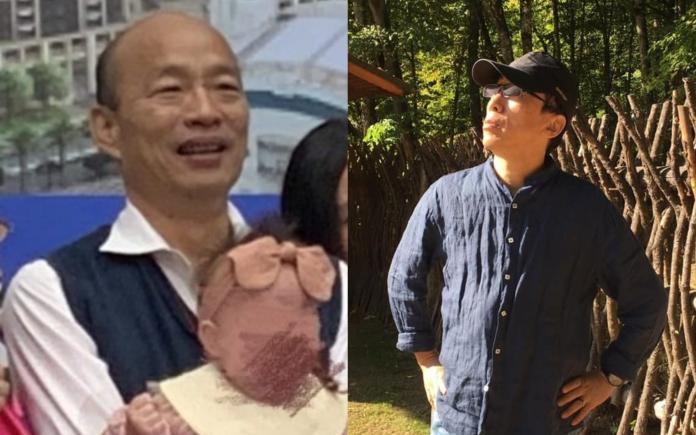 ▲韓國瑜近日出席寶寶爬行賽活動惹議。(圖/ 翻攝臉書)