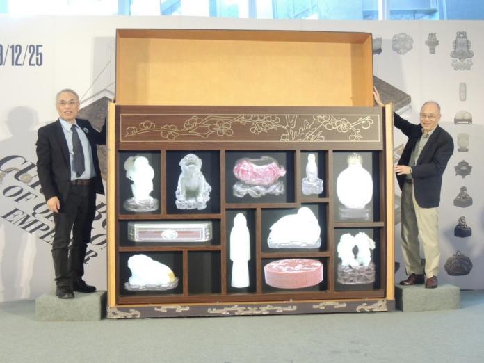 皇帝多寶格的古玩奇珍南下 故宮南院隆重開箱展期二年