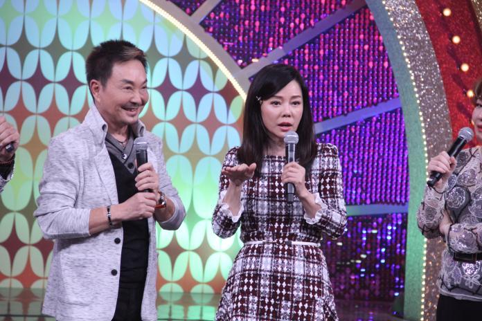 昔日螢幕情侶狄鶯、楊懷民登上年代《MUCH金點秀》。