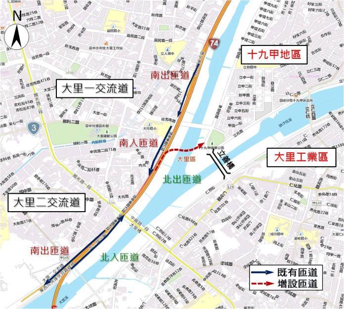 房市/台74線將增<b>匝道</b> 台中這區最受惠但房價難再漲
