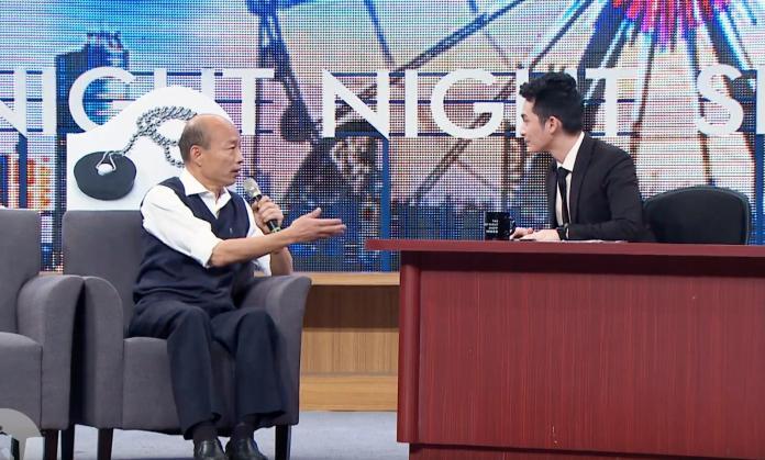 韓總、小英上節目「<b>價碼</b>竟差一半多」 博恩夜夜秀回應了