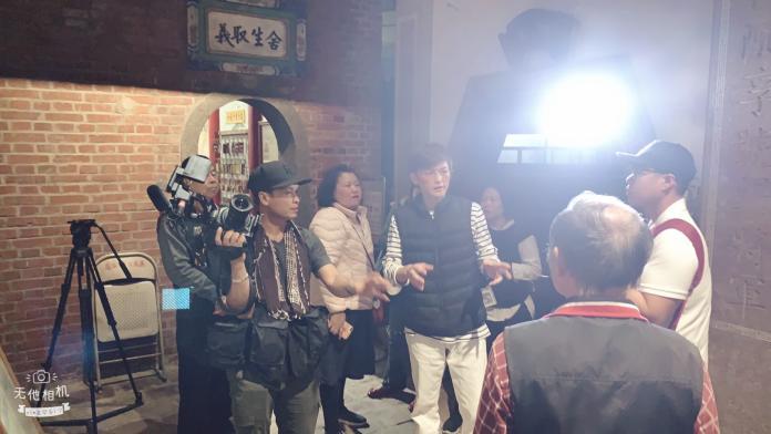 泰國電視台拍義民廟1