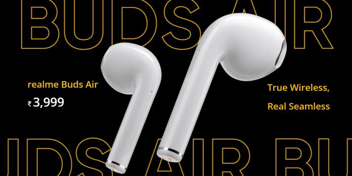 Realme<b>無線耳機</b>與Airpods長相類似 外媒評:嘆為觀止