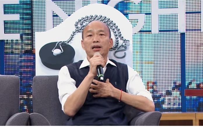 韓國瑜談大陸超結巴 尷尬笑回:希望藍綠能和諧