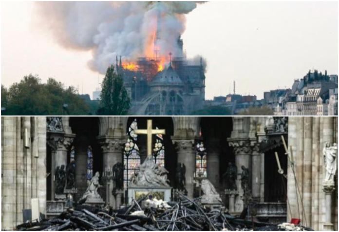 巴黎聖母院災後重建困難 法官員分析:僅50%機會能復原
