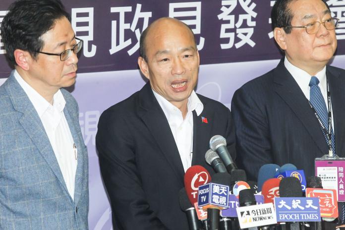 影/韓國瑜辯論會批評媒體 黃國昌:有失候選人格局