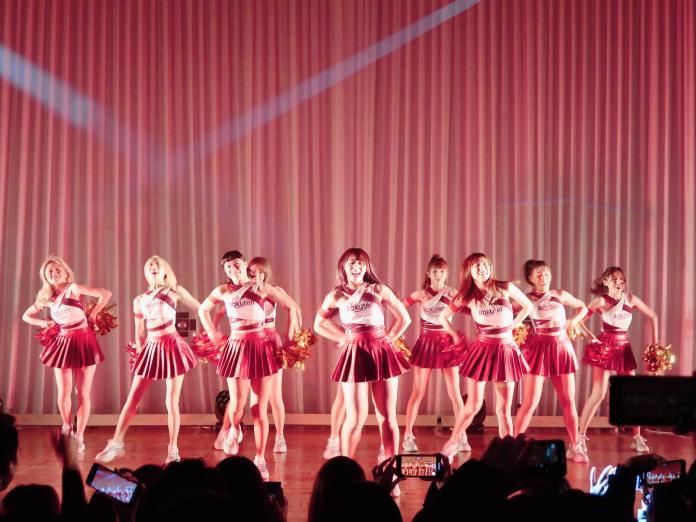 <br> Rakuten Girls東京熱舞四射 日本人直呼地表最正。(Rakuten桃猿提供)