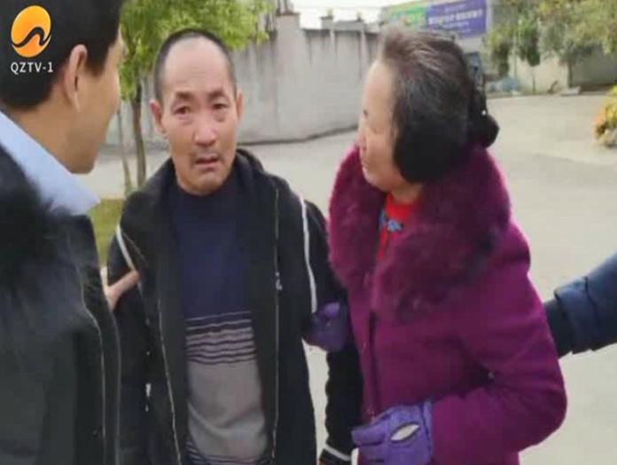 ▲四川男子外出打工失蹤 25 年,終於再見到家人。(圖/翻攝自泉州網絡電視台)