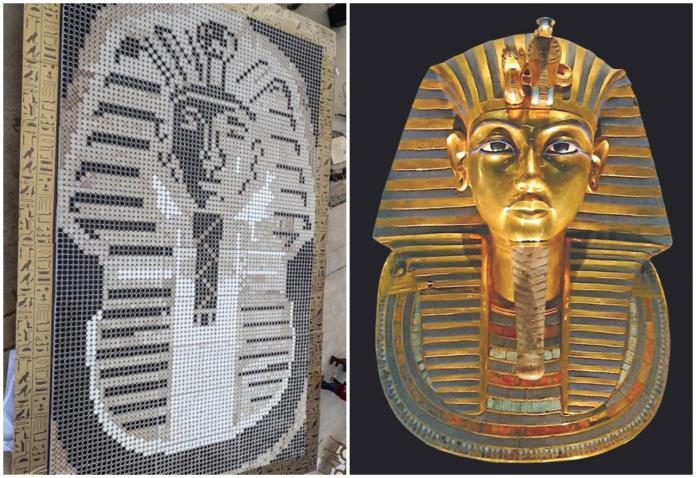 Tutankhamun musks