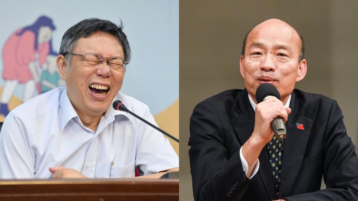 影/若遭罷免韓國瑜可改戰台北市?柯文哲:少點政治口水