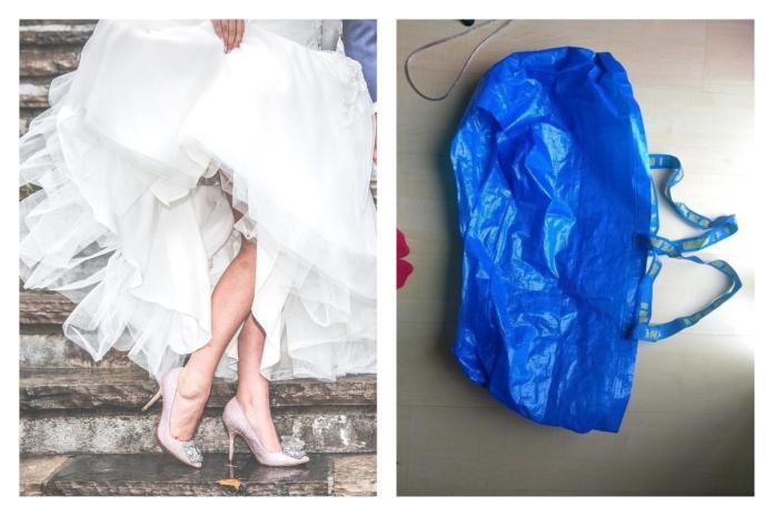 ▲穿婚紗想上廁所怎辦?新娘一招神解。(圖/翻攝自pixabay和 VT news)