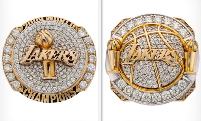 NBA/標起來!當年賤價典當 歐登兩枚湖人冠軍戒將拍賣