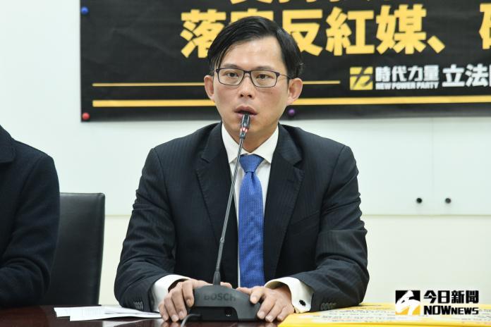 時代力量表態支持《反滲透法》立法,時力立委黃國昌。(圖/記者林柏年攝, 2019.12.31)