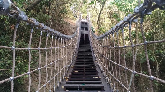 太平草嶺登山步道整修完成 體驗截然不同慢活步調