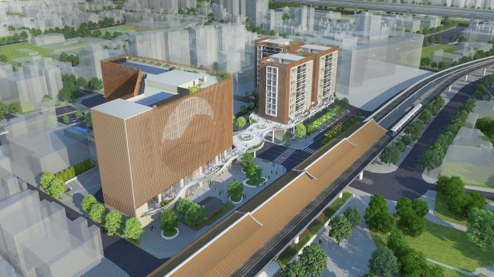 圓山站西側公辦都更案簽約 麗寶投43億打造飯店、商場