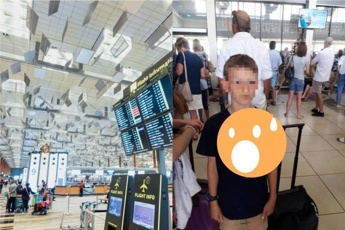 ▲來自紐西蘭的男孩和家人們在南非旅遊時,因身穿有蛇圖案的 T 恤被拒絕登機。(合成圖,左僅示意非當事地點/取自 Unsplash 、每日郵報)