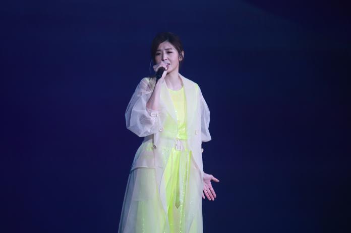 ▲蘇慧倫受邀2019台北市府前跨年演唱會表演。(圖/記者葉政勳攝 , 2019.12.31)