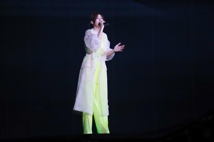 ▲蘇慧倫受邀2019台北市府前跨年演唱會表演。(圖/記者