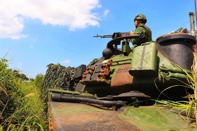 ▲ 陸軍裝甲584旅提供