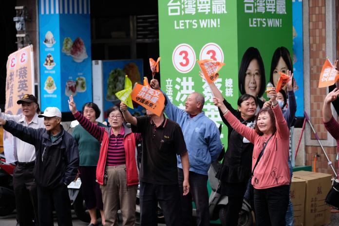 民進黨上緊發條 「全國大站路口」必勝決心