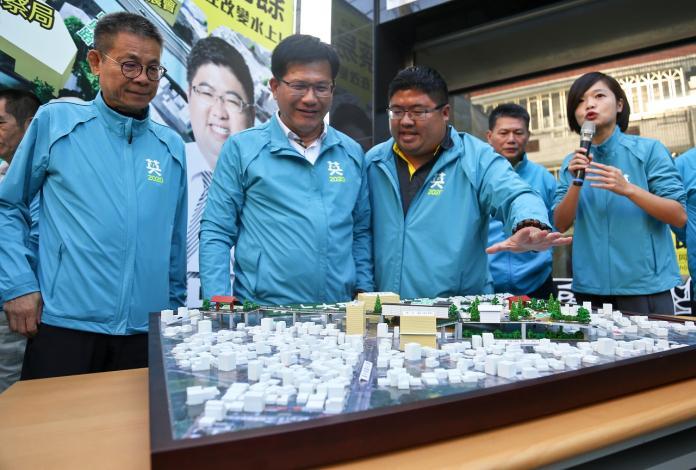 交通部長林佳龍:水上的大車站大平台模式可行。