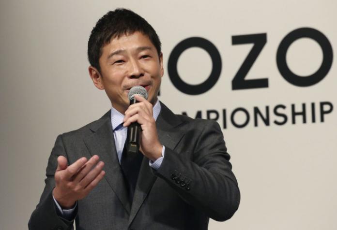 <br> ▲日本知名的超級富豪前澤友作。(圖/翻攝自推特)