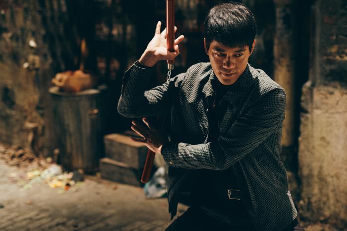▲陳國坤扮演《葉問4》的李小龍角色。(圖/劇照)