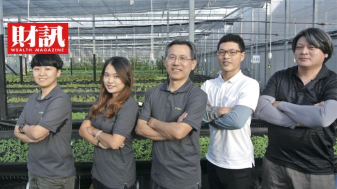 藥師中年轉行 種菜種出新創事業