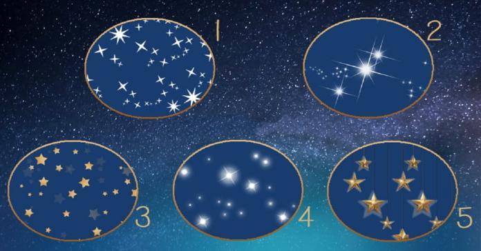 趣味測驗!從圖中選出最喜歡的<b>星星</b> 看出你的今年運勢